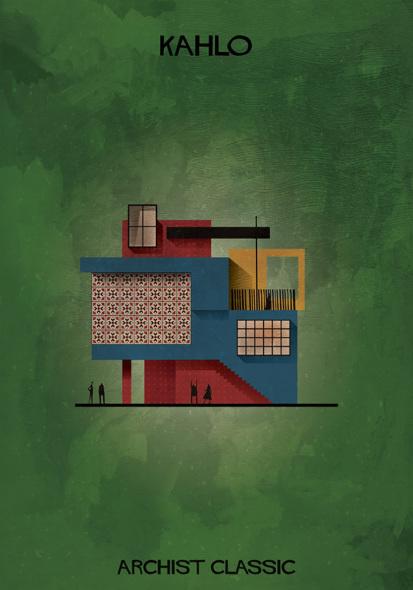 ¿Y si Frida Kahlo hubiera sido arquitecta?