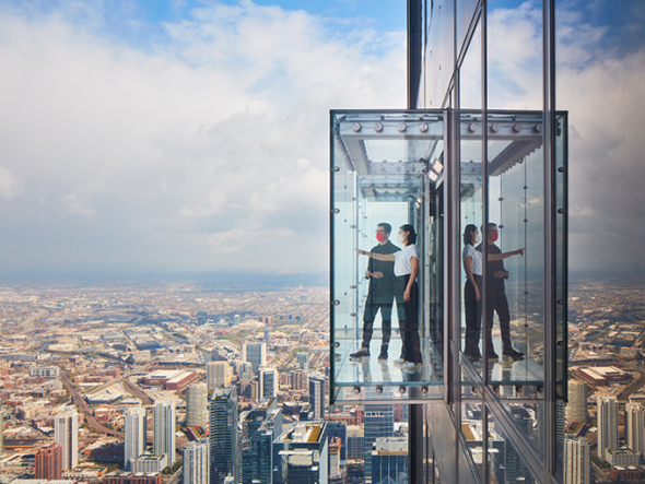 SOM completa la transformación de Willis Tower Skydeck