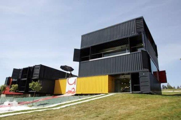 Contenedores como viviendas para j venes noticias de arquitectura buscador de arquitectura - Viviendas de contenedores ...