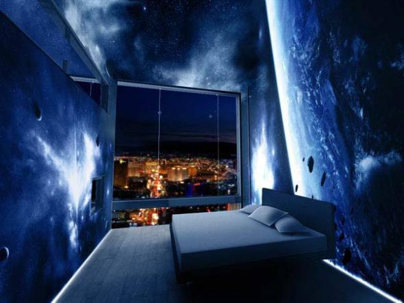 Hotel del futuro en el mar y en la Antártida